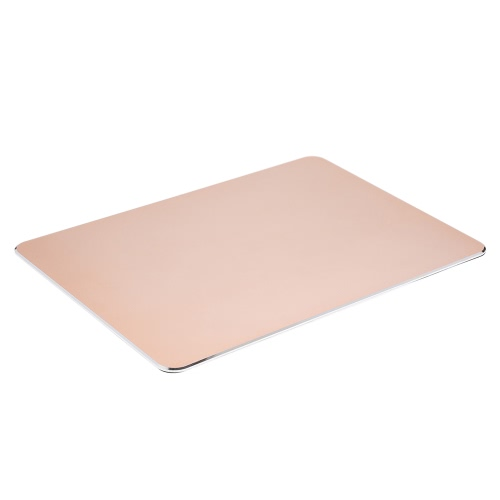 Aluminum Alloy Surface Micro Sand Blasting Gaming Mouse Pad Non-slip Base Dual Sides Available Game Office Mice MatComputer &amp; Stationery<br>Aluminum Alloy Surface Micro Sand Blasting Gaming Mouse Pad Non-slip Base Dual Sides Available Game Office Mice Mat<br>