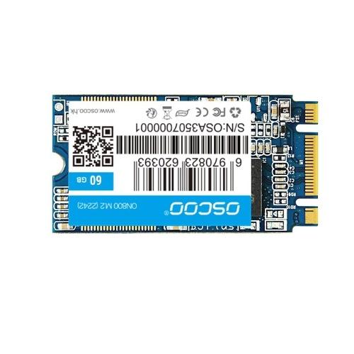 OSCOO NGFF 60G الداخلية الصلبة محرك الأقراص الحالة الصلبة SSD لأجهزة الكمبيوتر المحمولة