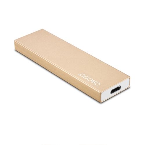 Unidad portátil de estado sólido OSCOO USB Type-C 3.1 SSD externo para computadoras