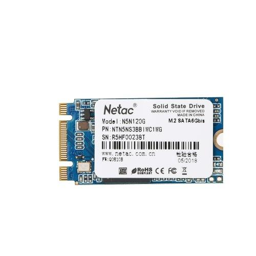 Netac N5N محرك أقراص الحالة الصلبة SSD القرص الصلب M.2 2242 HDD SATA 3.0 سرعة عالية SSD