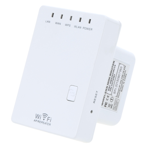 300Mbps Mini Wireless-N 802.11/3u Wifi Router Singal Extender BoosterComputer &amp; Stationery<br>300Mbps Mini Wireless-N 802.11/3u Wifi Router Singal Extender Booster<br>