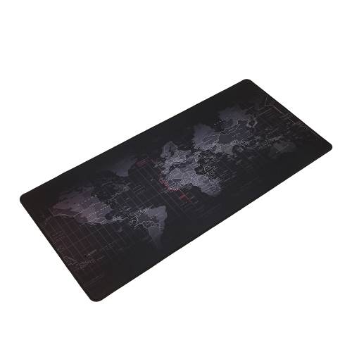 World Map Pattern Gaming Mouse Pad Non-slip Rubber Base Large Desk Pad Table Mat Extended Mouse MatComputer &amp; Stationery<br>World Map Pattern Gaming Mouse Pad Non-slip Rubber Base Large Desk Pad Table Mat Extended Mouse Mat<br>