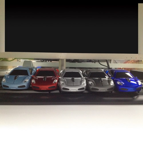 2.4GHz Wireless Racing Car Shaped Optical USB Mouse/Mice 3D 3 Buttons 1000 DPI/CPI for PC Laptop DesktopComputer &amp; Stationery<br>2.4GHz Wireless Racing Car Shaped Optical USB Mouse/Mice 3D 3 Buttons 1000 DPI/CPI for PC Laptop Desktop<br>