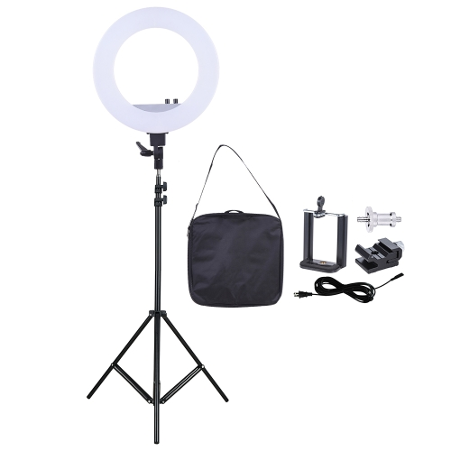 18 Inch LED Video Ring Light Fill-in Lamp Studio Photography Lighting 55W Adjustable Brightness 3200-5500K Color Temperature  withCameras &amp; Photo Accessories<br>18 Inch LED Video Ring Light Fill-in Lamp Studio Photography Lighting 55W Adjustable Brightness 3200-5500K Color Temperature  with<br>