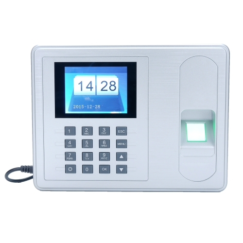 Intelligent Biometric Fingerprint Password Attendance Machine 2.4 inch TFT LCD Screen DC 5V Time Attendance Clock Employee CheckinComputer &amp; Stationery<br>Intelligent Biometric Fingerprint Password Attendance Machine 2.4 inch TFT LCD Screen DC 5V Time Attendance Clock Employee Checkin<br>