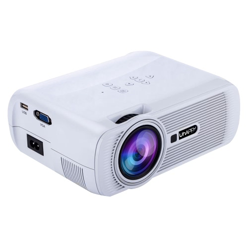 Uhappy Mini Portable Multimedia HD LED LCD Projector 1080P 3D Home Cinema Theater PC Laptop VGA USB AV HD SDComputer &amp; Stationery<br>Uhappy Mini Portable Multimedia HD LED LCD Projector 1080P 3D Home Cinema Theater PC Laptop VGA USB AV HD SD<br>