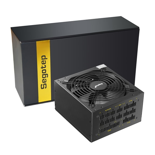 Segotep 1250W GP1350G Full Modular ATX PC Computer Mining Power Supply Gaming PSU For AMD Crossfire Active PFC 93.8% Efficiency 80Plus Gold