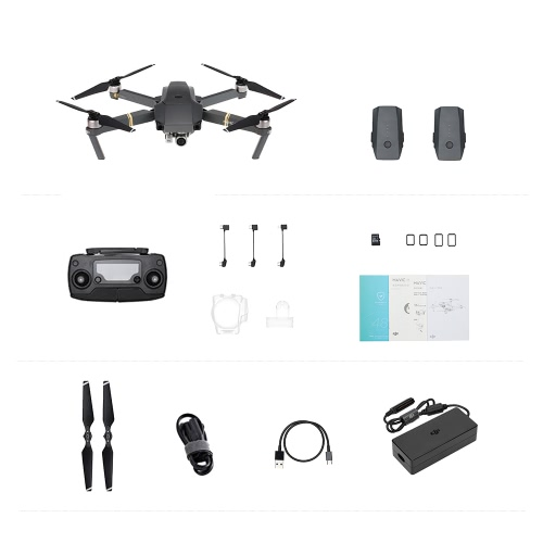 DJI Mavic Pro Foldable 4K Camera FPV RC Quadcopter with Two Extra BatteriesToys &amp; Hobbies<br>DJI Mavic Pro Foldable 4K Camera FPV RC Quadcopter with Two Extra Batteries<br>