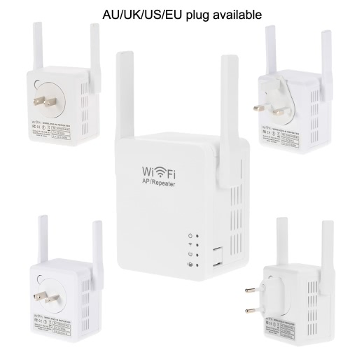 300Mbps WiFi Wireless Network Repeater Repetidor AP Client Wireless-N Range Signal Extender Dual External Antenna Full Coverage 80Computer &amp; Stationery<br>300Mbps WiFi Wireless Network Repeater Repetidor AP Client Wireless-N Range Signal Extender Dual External Antenna Full Coverage 80<br>