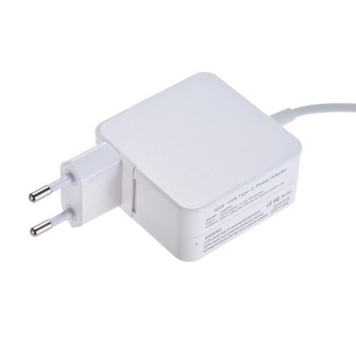 電源アダプタAC DC 100V-240V 1.5A 45W USBタイプC 20V 2.25A / 15V 3A / 14.5V 2A / 9V 3A / 5V 3A MacBook / Xiaomi用コンパクト充電器