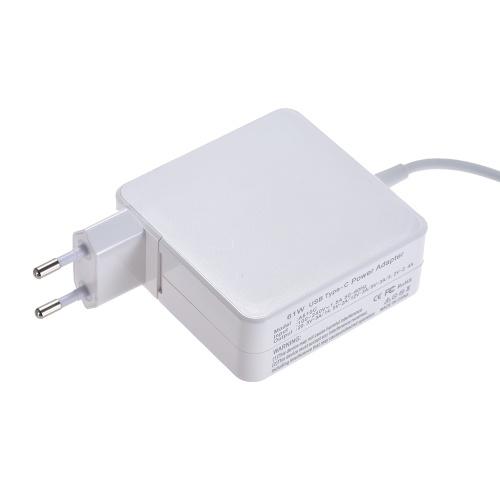 電源アダプタAC DC 100V-240V 1.5A 61W USBタイプC 20.3V 3A / 14.5V 2A / 12V 3A / 9V 3A / 5.2V 2.4A MacBook / Xiaomi用コンパクト充電器