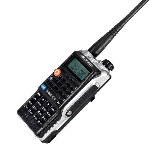 BAOFENG BF-UVB2 Plus FM-Transceiver Dualband-LCD-Display Handheld-Interphone 128CH Zwei-Wege-Funkunterstützung Lange Kommunikationsreichweite Lange Standby-Zeit Klare Stimme Walkie Talkie Schwarz EU-Stecker