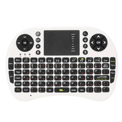 2.4G Mini USB Wireless Spanish Version Keyboard Touchpad &amp; Air Mouse Fly Mouse Remote Control for Android Windows TV Box Smart PhoComputer &amp; Stationery<br>2.4G Mini USB Wireless Spanish Version Keyboard Touchpad &amp; Air Mouse Fly Mouse Remote Control for Android Windows TV Box Smart Pho<br>