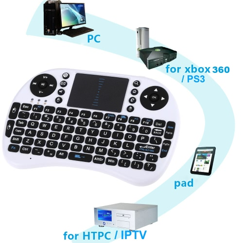 Mini 2.4G Wireless Keyboard Handheld Air Mouse Touchpad Remote Control for Xbox360/PS3/Andriod TV Box Smart TV HTPC IPTV PC PadComputer &amp; Stationery<br>Mini 2.4G Wireless Keyboard Handheld Air Mouse Touchpad Remote Control for Xbox360/PS3/Andriod TV Box Smart TV HTPC IPTV PC Pad<br>
