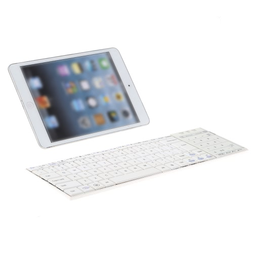 Ultra Slim Wireless Bluetooth Keyboard with Multi-touch Touchpad for iPhone/iPad Pro/MacBook/PC/Laptop/Tablet/Smart PhoneComputer &amp; Stationery<br>Ultra Slim Wireless Bluetooth Keyboard with Multi-touch Touchpad for iPhone/iPad Pro/MacBook/PC/Laptop/Tablet/Smart Phone<br>
