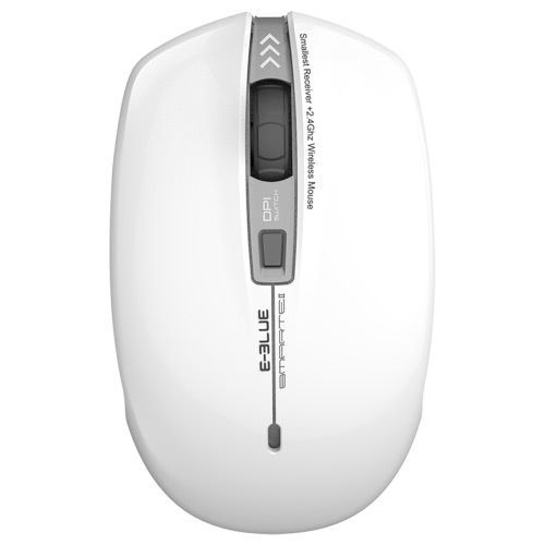 E-3LUE EMS118 Portable Optical Adjustable 1600DPI 2.4G Wireless Home Office Mouse Computer Gaming MiceComputer &amp; Stationery<br>E-3LUE EMS118 Portable Optical Adjustable 1600DPI 2.4G Wireless Home Office Mouse Computer Gaming Mice<br>