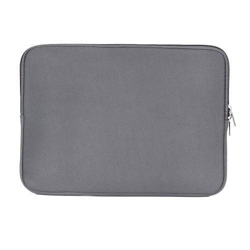 Zipper bolsa de manga macia para MacBook Air Pro Retina Ultrabook Laptop Notebook 13 polegadas 13