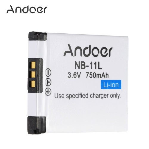 Andoer NB-11L Rechargeable Camera Camcorder Li-ion Battery 750mAh 3.6V for Canon PowerShot SX410 SX400 IS ELPH 350 HSCameras &amp; Photo Accessories<br>Andoer NB-11L Rechargeable Camera Camcorder Li-ion Battery 750mAh 3.6V for Canon PowerShot SX410 SX400 IS ELPH 350 HS<br>