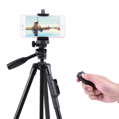 YUNTENG 5208 Portable Aluminum Alloy Lightweight Tripod Wireless Remote Control Shutter for Universal Smartphone Mount Load CapaciCameras &amp; Photo Accessories<br>YUNTENG 5208 Portable Aluminum Alloy Lightweight Tripod Wireless Remote Control Shutter for Universal Smartphone Mount Load Capaci<br>