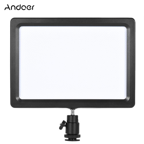Andoer PAD-112 Panel Adjustable Temperature Slim LED Video Fill-in Light for Nikon Sony Canon EOS Camera CamcorderCameras &amp; Photo Accessories<br>Andoer PAD-112 Panel Adjustable Temperature Slim LED Video Fill-in Light for Nikon Sony Canon EOS Camera Camcorder<br>