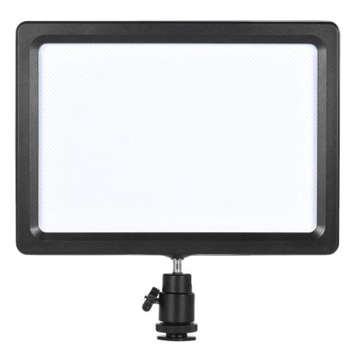 Andoer PAD-112 Slim LED видео заполняющая световой панели 3200K-5600K Регулируемая температура CRI85 + для Nikon Sony Canon EOS камеры видеокамеры