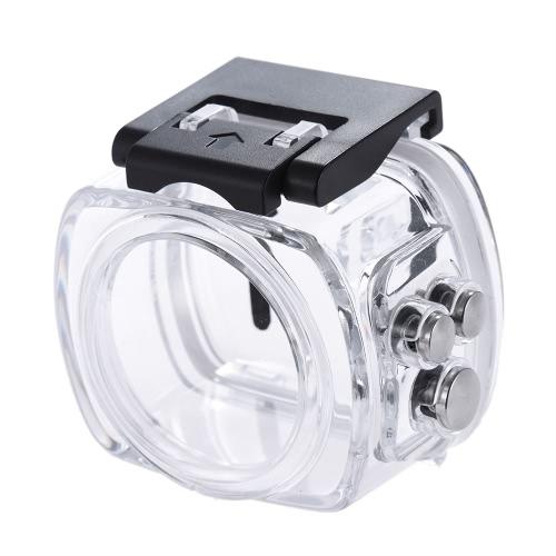Andoer 360度フルHDパノラマスポーツアクションカメラ用の水中ダイビング写真防水30Mケースプロテクター