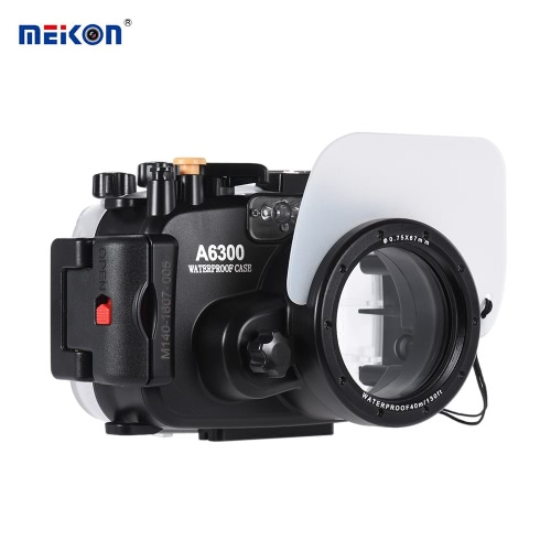 MEIKON SY-22 40m / 130ft Underwater Waterproof Camera Housing Black Waterproof Camera Case for Sony A6300Cameras &amp; Photo Accessories<br>MEIKON SY-22 40m / 130ft Underwater Waterproof Camera Housing Black Waterproof Camera Case for Sony A6300<br>