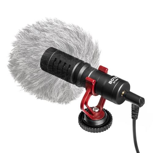 BOYA BY-MM1 Mini Cardioid MicrophoneCameras &amp; Photo Accessories<br>BOYA BY-MM1 Mini Cardioid Microphone<br>
