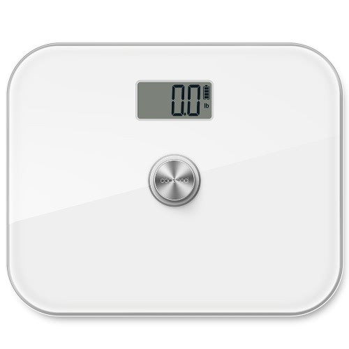 dodocool Battery-free Precision Digital Body Weight Scale with Extra Large Tempered Glass and LCD Display 330 lb. Capacity WhiteCellphone &amp; Accessories<br>dodocool Battery-free Precision Digital Body Weight Scale with Extra Large Tempered Glass and LCD Display 330 lb. Capacity White<br>