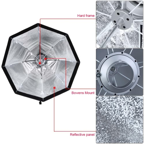 Godox SB-UE 80cm / 31.5in Portable Octagonal Umbrella Softbox with Bowens Mount for SpeedliteCameras &amp; Photo Accessories<br>Godox SB-UE 80cm / 31.5in Portable Octagonal Umbrella Softbox with Bowens Mount for Speedlite<br>