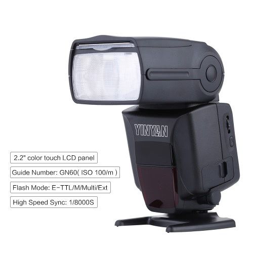 YinYan 600AX-RT GN60 Flash Light Speedlite 2.2 Color Touch LCD E-TTL Master Slave HSS Radio Transmission with Diffuser Filter forCameras &amp; Photo Accessories<br>YinYan 600AX-RT GN60 Flash Light Speedlite 2.2 Color Touch LCD E-TTL Master Slave HSS Radio Transmission with Diffuser Filter for<br>