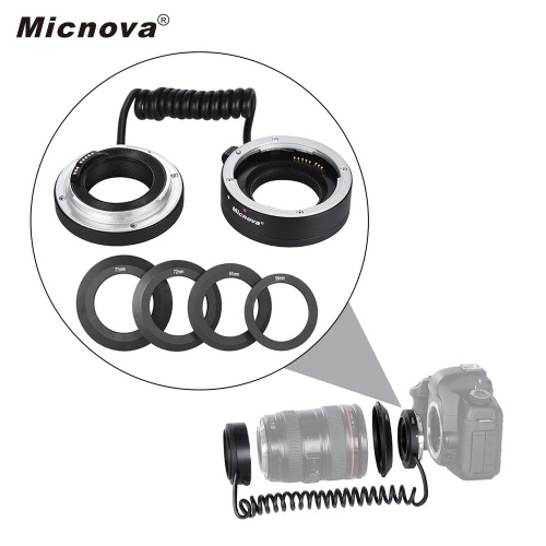 Micnova KK-AT5A AF Auto Focus Macro Close-up Reverse Adapter Ring Tube for Canon EF/EF-S Mount Lens with 4 Adapter Rings(58mm, 67mCameras &amp; Photo Accessories<br>Micnova KK-AT5A AF Auto Focus Macro Close-up Reverse Adapter Ring Tube for Canon EF/EF-S Mount Lens with 4 Adapter Rings(58mm, 67m<br>