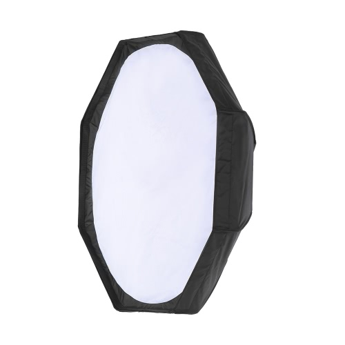 8 Pole 80cm/31.5 Silver/Black Foldable Collapsible Beauty Dish Octagon Softbox Flash Reflector Diffuser w/ Soft Cloth for BowensCameras &amp; Photo Accessories<br>8 Pole 80cm/31.5 Silver/Black Foldable Collapsible Beauty Dish Octagon Softbox Flash Reflector Diffuser w/ Soft Cloth for Bowens<br>