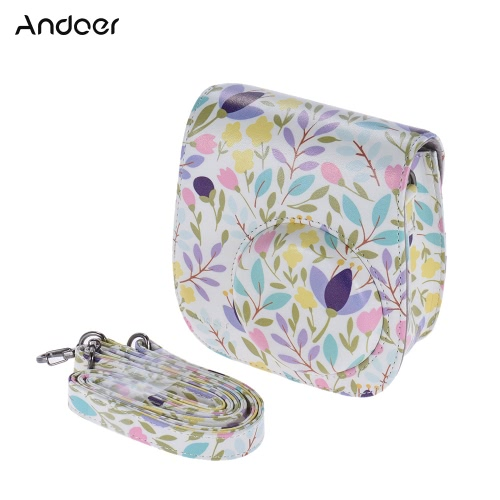 Andoer PU Protective Camera Case Bag Pouch Protector for Fujifilm Instax Mini 8+/8s/8Cameras &amp; Photo Accessories<br>Andoer PU Protective Camera Case Bag Pouch Protector for Fujifilm Instax Mini 8+/8s/8<br>