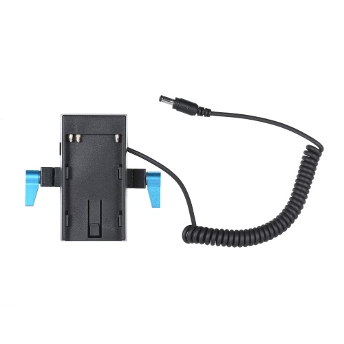 Andoer Camera Battery Mount Plate Power Supply Adapter with 15mm Rod Clamp for BMD BMCC BMPCC for Sony BP-U60/U30 BatteryCameras &amp; Photo Accessories<br>Andoer Camera Battery Mount Plate Power Supply Adapter with 15mm Rod Clamp for BMD BMCC BMPCC for Sony BP-U60/U30 Battery<br>