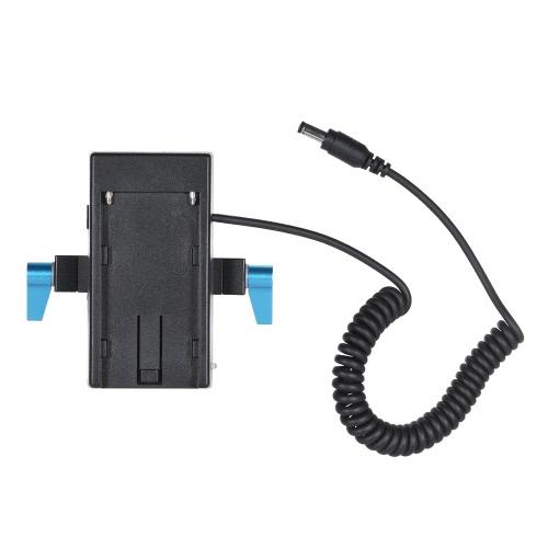 Андоерный адаптер питания от аккумулятора фотокамеры с 15мм хомутом для BMCC BMPCC для Sony F970 F950 Аккумулятор