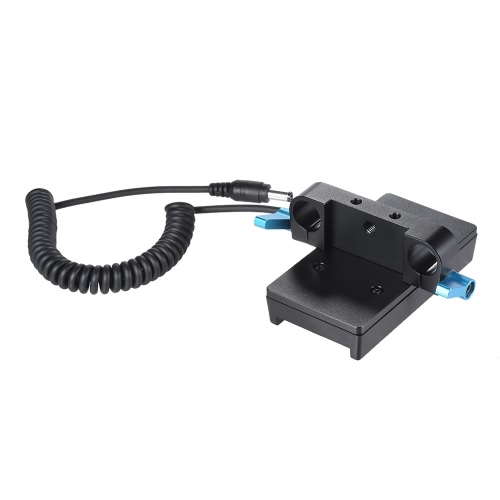Andoer Camera Battery Mount Plate Power Supply Adapter with 15mm Rod Clamp for BMCC BMPCC for Sony F970 F950 BatteryCameras &amp; Photo Accessories<br>Andoer Camera Battery Mount Plate Power Supply Adapter with 15mm Rod Clamp for BMCC BMPCC for Sony F970 F950 Battery<br>