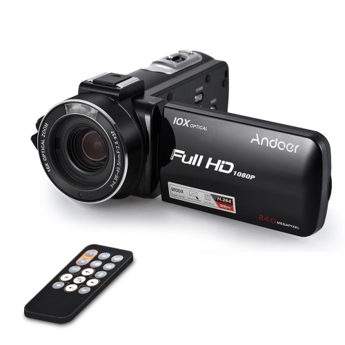 Andoer HDV-Z82 1080P Full HD Digital Video Camera CamcorderCameras &amp; Photo Accessories<br>Andoer HDV-Z82 1080P Full HD Digital Video Camera Camcorder<br>