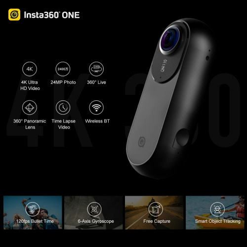 Insta360 ONE 4K 360°  VR Video Action Sports CameraCameras &amp; Photo Accessories<br>Insta360 ONE 4K 360°  VR Video Action Sports Camera<br>