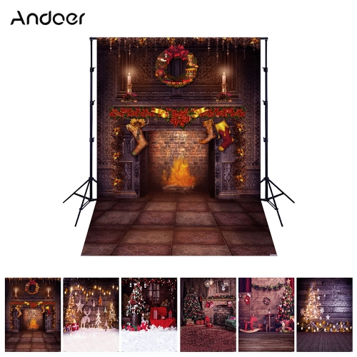 Andoer 1.5*2 meters / 5*7 feet Christmas Holiday Theme Background Photography BackdropCameras &amp; Photo Accessories<br>Andoer 1.5*2 meters / 5*7 feet Christmas Holiday Theme Background Photography Backdrop<br>