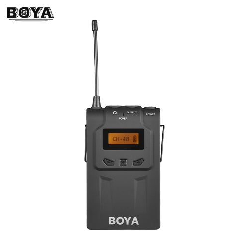 BOYA BY-WM6R UHF Wireless MicrophoneCameras &amp; Photo Accessories<br>BOYA BY-WM6R UHF Wireless Microphone<br>