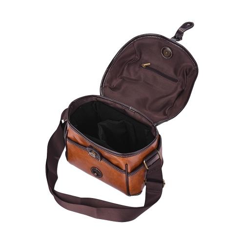 Vintage PU Leather DSLR Camera Bag Case Shoulder Bag for Sony A6500 A7R A9 A7 II A7R-M3 A6000 A6300 Nex-5N 5R 5T