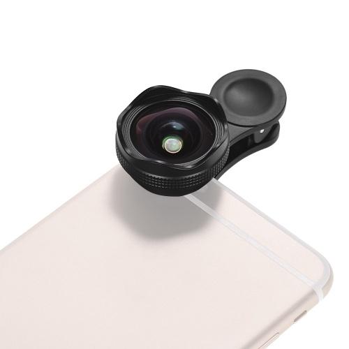 Lente granangular estupenda del calibre 4K HD de 25m m con el conjunto 15X macro 2 en 1 ninguna distorsión para el teléfono móvil