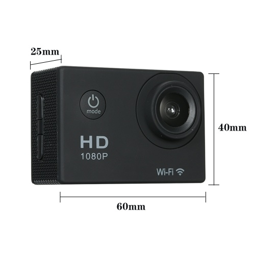 720P Wifi Sport Action Camera 12M 2.0