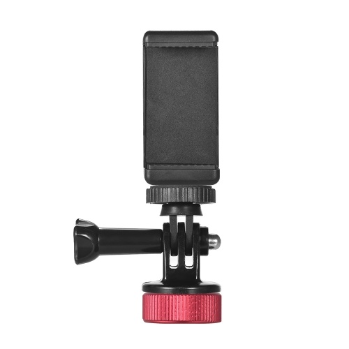 Manbily Beverage Bottle Cap Smartphone Soporte de cámara para fotografiar Ver video Tornillo de 1/4 pulgada para acción Cámara iPhoneX / 8 / 8P Samsung HTC Blackberry