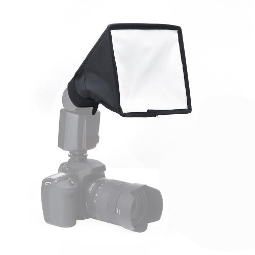 Portátil Translúcida Folding Softbox para Câmeras DSLR Flash Speedlite Difusor Softbox 20 * 30/15 * 17 Centímetro Portátil estúdio