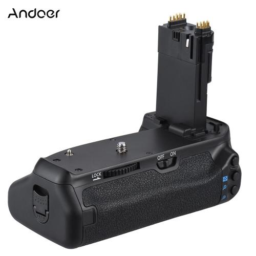Andoer BG-1T Vertical Battery Grip Holder for Canon EOS 70D/80D DSLR Camera Compatible with 2 * LP-E6 BatteryCameras &amp; Photo Accessories<br>Andoer BG-1T Vertical Battery Grip Holder for Canon EOS 70D/80D DSLR Camera Compatible with 2 * LP-E6 Battery<br>