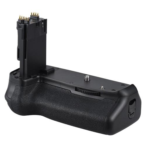 Andoer BG-1T Soporte de batería vertical para cámara Canon EOS 70D / 80D DSLR Compatible con 2 * LP-E6 Batería