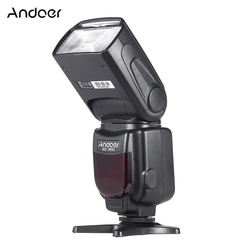 Andoer AD-960II Universal LCD Display On-camera Speedlite Flash GN54 for Nikon Canon Pentax DSLR CameraCameras &amp; Photo Accessories<br>Andoer AD-960II Universal LCD Display On-camera Speedlite Flash GN54 for Nikon Canon Pentax DSLR Camera<br>