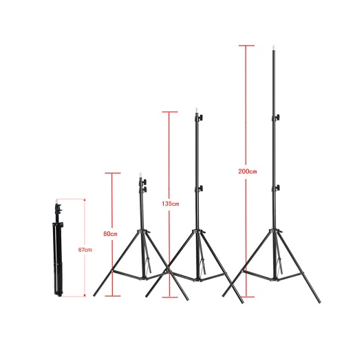 Photography/Video Portrait Umbrella Continuous Triple Lighting KitCameras &amp; Photo Accessories<br>Photography/Video Portrait Umbrella Continuous Triple Lighting Kit<br>